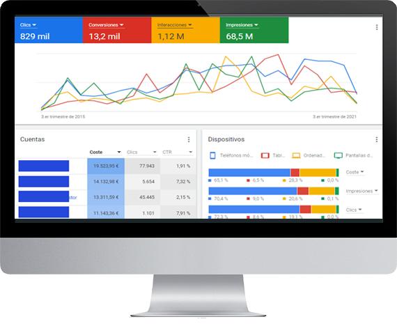 Experiencia Demostrada en Campañas de Google Ads para todo tipo de Empresas Secta Marketing Digital