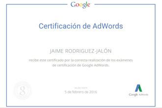 Certificaciond-AdWords-Jaime-Rodriguez-Jalon