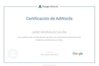 certificacido-Google-AdWords-video-jaime-rodriguez-jalon