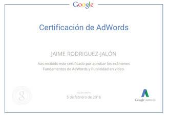 certificacion-Google-AdWords-video-jaime-rodriguez-jalon