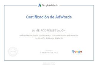 certificado-Google-AdWords-jaime-rodriguez-jalon-olea