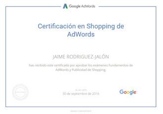 certificados-jaime-rodriguez-jalon-Google-AdWords-shopping-9-2016