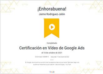 Certificacion-Google-Video-Google-Ads-Octubre-2021-jaime-rodriguez-jalon